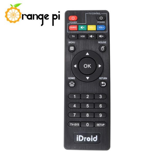 ORANGE PI REMOTE CONTROL
