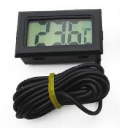 THERMOMETER WITH LCD