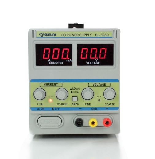 303D DC POWER SUPPLY