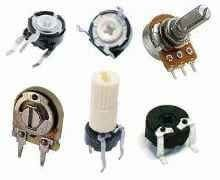 Potentiometers & Variable Resistors